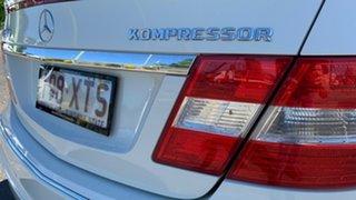 2009 Mercedes-Benz CLC200 Kompressor 203 Evolution White 5 Speed Automatic Coupe