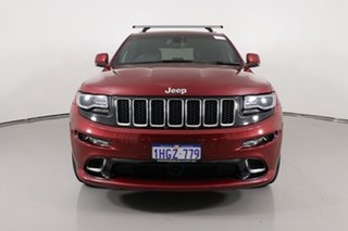 2014 Jeep Grand Cherokee WK MY14 SRT 8 (4x4) Red 8 Speed Automatic Wagon.