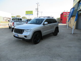 2012 Jeep Grand Cherokee WK Limited Silver 5 Speed Sports Automatic Wagon.