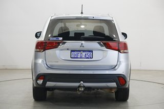 2016 Mitsubishi Outlander ZK MY16 LS 4WD Apex Silver 6 Speed Constant Variable Wagon