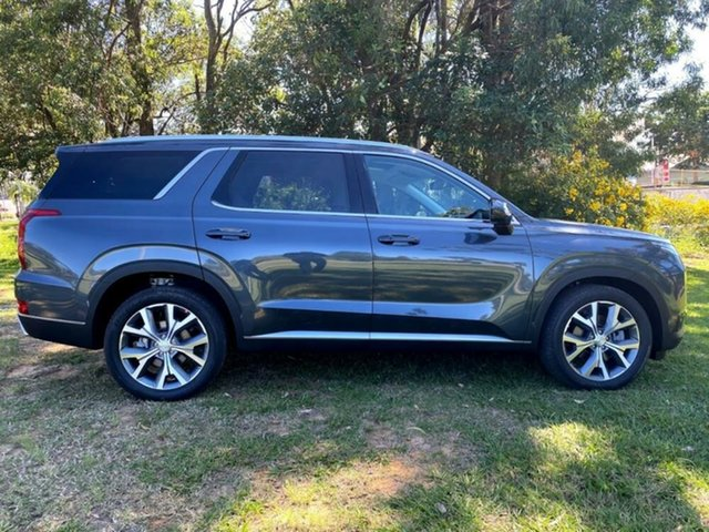 New Hyundai Palisade LX2.V1 MY21 Highlander AWD Mount Gravatt, 2021 Hyundai Palisade LX2.V1 MY21 Highlander AWD Steel Graphite 8 Speed Sports Automatic Wagon
