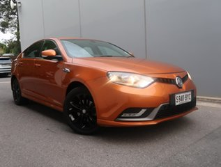 2017 MG MG6 IP2X Excite Orange 6 Speed Sports Automatic Dual Clutch Hatchback.