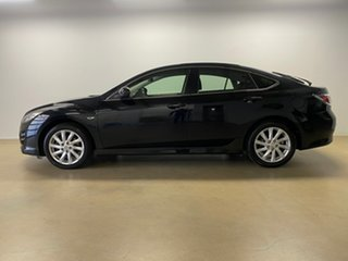 2010 Mazda 6 GH MY10 Classic Black 5 Speed Auto Activematic Hatchback.