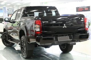 2021 Mitsubishi Triton MR MY21 GSR Double Cab Pitch Black 6 Speed Sports Automatic Utility