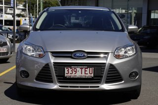 2013 Ford Focus LW MkII Trend PwrShift Silver 6 Speed Sports Automatic Dual Clutch Sedan.
