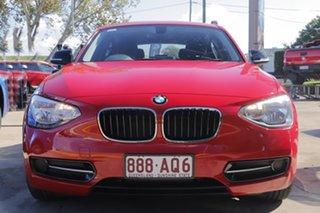 2012 BMW 116i F20 116i Red 8 Speed Sports Automatic Hatchback.