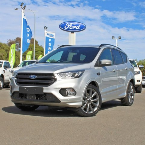 Used Ford Escape ZG 2019.25MY ST-Line Midland, 2019 Ford Escape ZG 2019.25MY ST-Line Silver 6 Speed Sports Automatic SUV