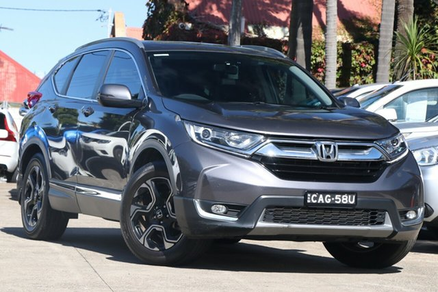 Pre-Owned Honda CR-V MY18 VTi-L7 (2WD) Mosman, 2018 Honda CR-V MY18 VTi-L7 (2WD) Grey Continuous Variable Wagon