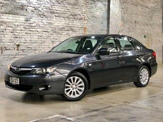 2009 Subaru Impreza G3 MY09 RX AWD Grey 5 Speed Manual Sedan.