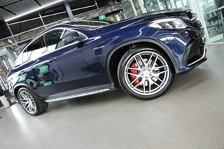 2018 Mercedes-Benz GLE-Class C292 MY809 GLE63 AMG Coupe SPEEDSHIFT PLUS 4MATIC S Blue 7 Speed.