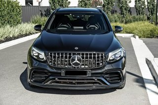 2018 Mercedes-Benz GLC-Class C253 809MY GLC63 AMG Coupe SPEEDSHIFT MCT 4MATIC+ S Black 9 Speed