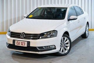 2014 Volkswagen Passat Type 3C MY14.5 118TSI DSG White 7 Speed Sports Automatic Dual Clutch Sedan.