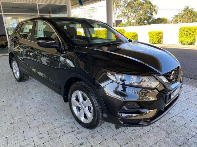 Used Nissan Qashqai ST Taree, 2019 Nissan Qashqai ST Black Constant Variable Wagon