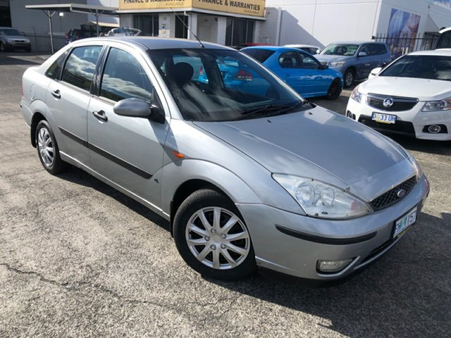 Used Ford Focus LR MY2003 CL Derwent Park, 2003 Ford Focus LR MY2003 CL Silver 4 Speed Automatic Hatchback