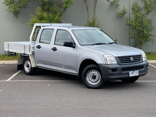 Used Holden Rodeo RA MY06 DX Crew Cab 4x2 Templestowe, 2006 Holden Rodeo RA MY06 DX Crew Cab 4x2 Silver 5 Speed Manual Utility