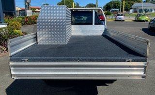 2011 Mitsubishi Triton MN MY11 GLX 4x2 Black 5 Speed Manual Cab Chassis