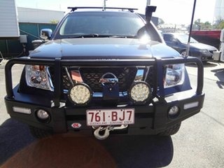2008 Nissan Navara D40 ST-X (4x4) Blue 5 Speed Automatic Dual Cab Pick-up