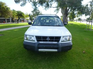 2000 Subaru Forester 79V GX White Manual Wagon.