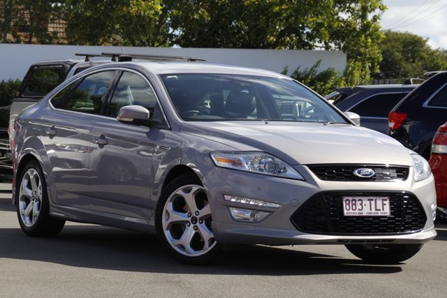 Used Ford Mondeo MC Titanium TDCi Mount Gravatt, 2012 Ford Mondeo MC Titanium TDCi Silver 6 Speed Sports Automatic Dual Clutch Hatchback