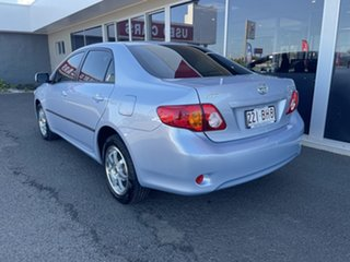 2010 Toyota Corolla ZRE152R Ascent Blue 4 Speed Automatic Sedan