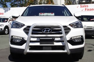 2017 Hyundai Santa Fe DM4 MY18 Active White 6 Speed Sports Automatic Wagon.