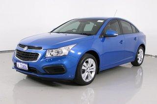 2015 Holden Cruze JH MY14 Equipe Blue 6 Speed Automatic Sedan.