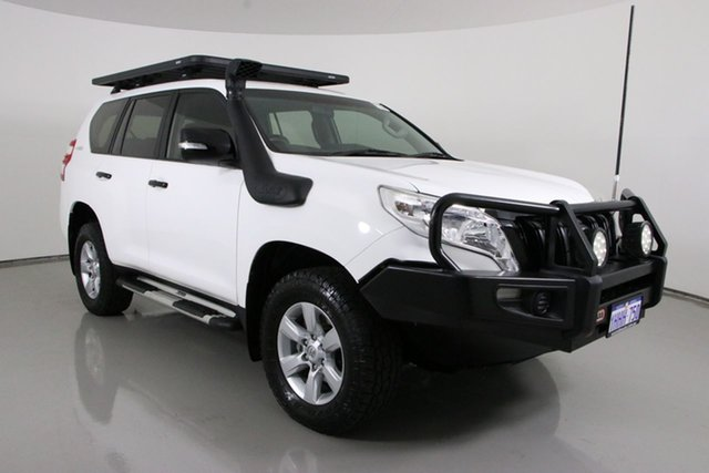 Used Toyota Landcruiser Prado KDJ150R MY14 GX (4x4) Bentley, 2014 Toyota Landcruiser Prado KDJ150R MY14 GX (4x4) White 5 Speed Sequential Auto Wagon