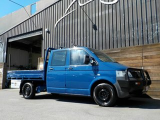 2009 Volkswagen Transporter T5 MY09 4MOTION Blue 6 Speed Manual Cab Chassis.