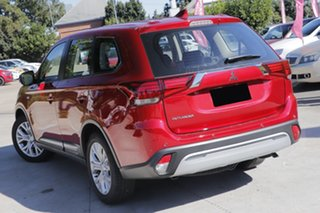 2020 Mitsubishi Outlander ZL MY20 ES 2WD Red 6 Speed Constant Variable Wagon