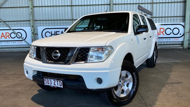 Used Nissan Navara D40 ST-X Rocklea, 2005 Nissan Navara D40 ST-X White 6 Speed Manual Utility
