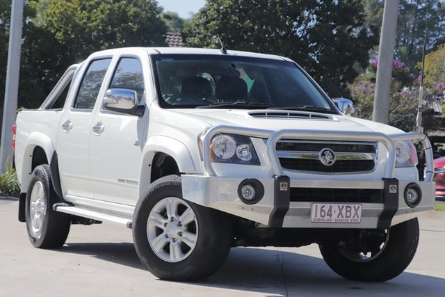 Used Holden Colorado RC MY11 LX-R Crew Cab Toowoomba, 2011 Holden Colorado RC MY11 LX-R Crew Cab White 4 Speed Automatic Utility