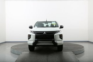 2018 Mitsubishi Triton MQ MY18 GLX White 6 Speed Manual Cab Chassis