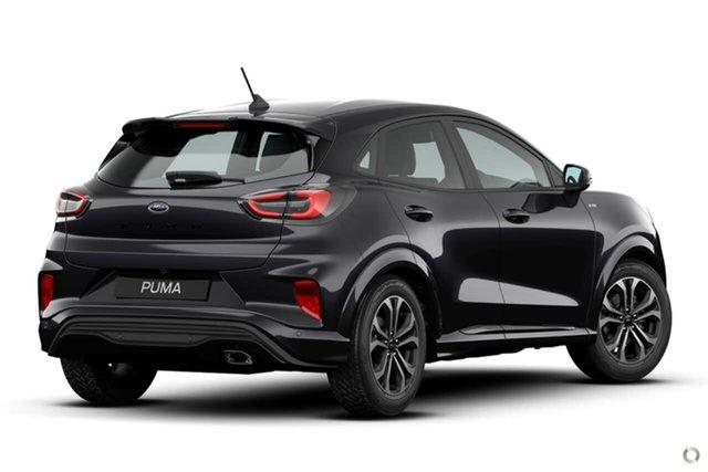 New Ford Puma JK 2020.75MY ST-Line Oakleigh, 2020 Ford Puma JK 2020.75MY ST-Line Black 7 Speed Sports Automatic Dual Clutch Wagon