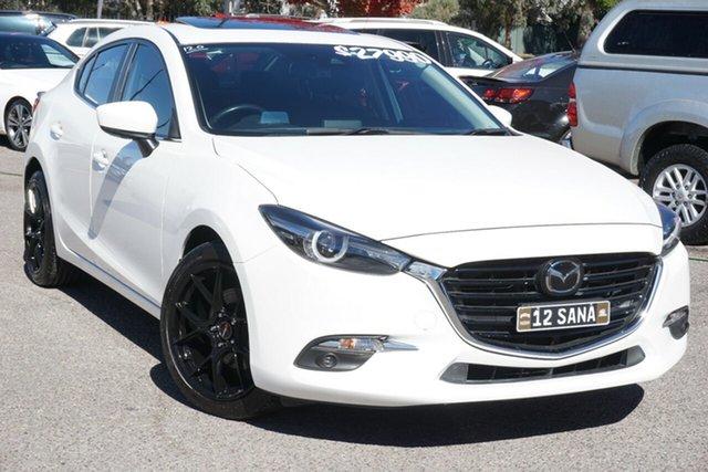 Used Mazda 3 BN5238 SP25 SKYACTIV-Drive Astina Phillip, 2018 Mazda 3 BN5238 SP25 SKYACTIV-Drive Astina White 6 Speed Sports Automatic Sedan