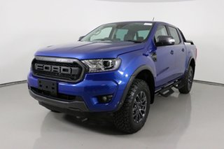 2020 Ford Ranger PX MkIII 2021.25MY FX4 Max Blue 10 Speed Sports Automatic Double Cab Pick Up.