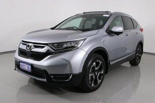 2020 Honda CR-V MY20 VTi-LX (AWD) Lunar Silver Continuous Variable Wagon.