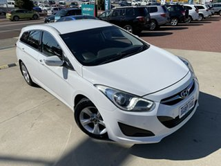 2012 Hyundai i40 VF Active Tourer White 6 Speed Sports Automatic Wagon.