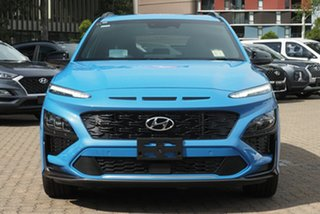 2020 Hyundai Kona Os.v4 MY21 N-Line D-CT AWD Premium Phantom Black 7 Speed
