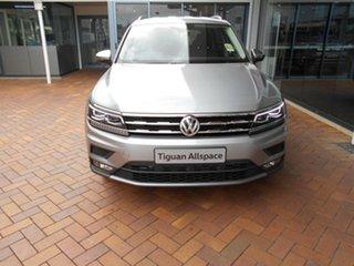 2020 Volkswagen Tiguan 5N MY21 110TSI Comfortline DSG 2WD Allspace Pyrit Silver Metallic 6 Speed.