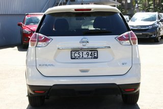2014 Nissan X-Trail T31 Series 5 ST (FWD) White Continuous Variable Wagon