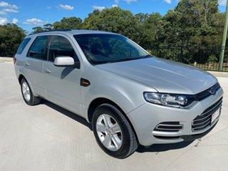 2012 Ford Territory SZ TX Seq Sport Shift RWD Limited Edition Silver 6 Speed Sports Automatic Wagon.
