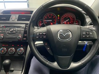 2010 Mazda 6 GH MY10 Classic Black 5 Speed Auto Activematic Hatchback