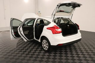 2013 Ford Focus LW MkII Ambiente PwrShift White 6 speed Automatic Hatchback