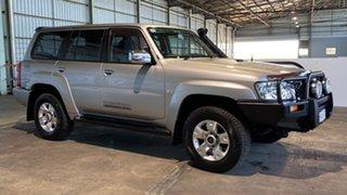 2008 Nissan Patrol GU 6 MY08 ST Silver 5 Speed Manual Wagon.