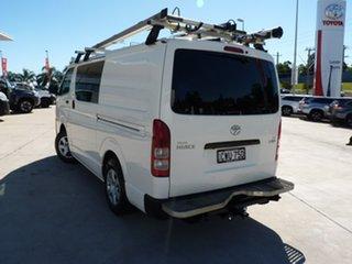 2014 Toyota HiAce TRH201R MY14 LWB White 5 Speed Manual Van.
