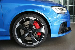 2018 Audi RS 3 8V MY18 S Tronic Quattro Blue 7 Speed Sports Automatic Dual Clutch Sedan
