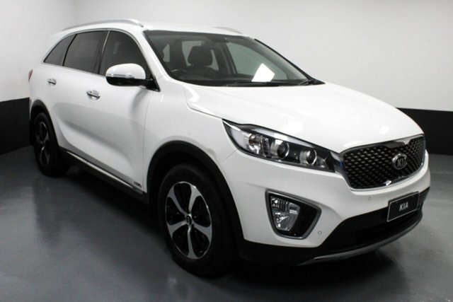 Used Kia Sorento UM MY16 SLi AWD Cardiff, 2016 Kia Sorento UM MY16 SLi AWD White 6 Speed Sports Automatic Wagon
