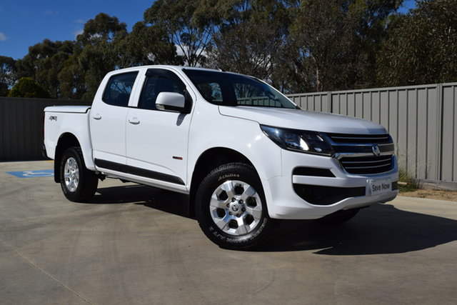Used Holden Colorado RG MY17 LS Crew Cab Echuca, 2016 Holden Colorado RG MY17 LS Crew Cab White 6 Speed Sports Automatic Cab Chassis