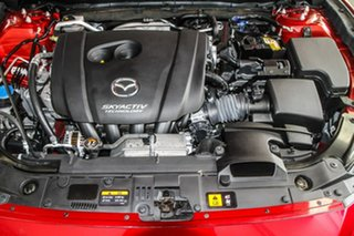 2018 Mazda 3 BN5238 SP25 SKYACTIV-Drive GT Red 6 Speed Sports Automatic Sedan