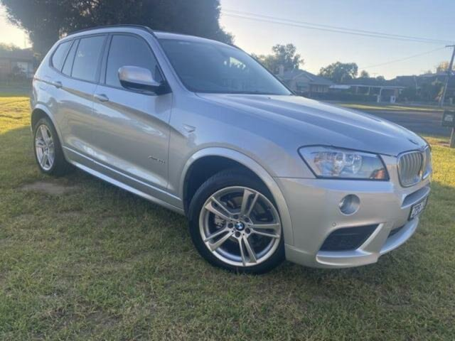 Pre-Owned BMW X3 F25 xDrive30d Wangaratta, 2013 BMW X3 F25 xDrive30d 8 Speed Automatic Wagon